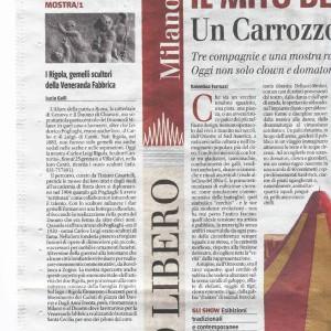 2009 04 Gennaio il Giornale Mostra Rigola Scultori