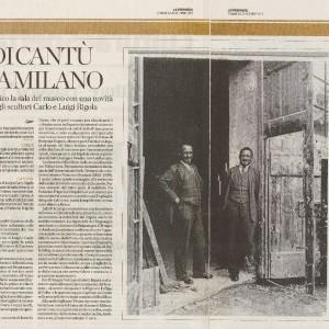 2013 20 Ottobre la Provincia Rigola Gessi Altare Museo Duomo Milano