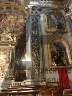 Chiavari Duomo Lesene