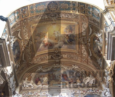 Genova Duomo Cappella Cybo