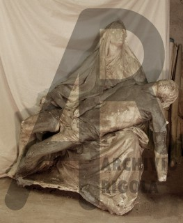 Monza Pieta Cappella Espiatoria Gesso