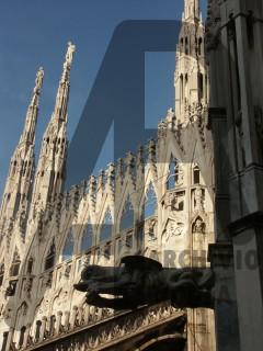 Milano Duomo Guglie e Doccione