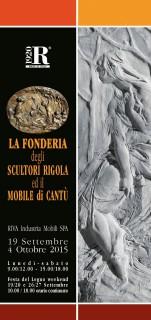 Rigola Scultori Festa del Legno 2015 Riva 1920 Folder Mostra