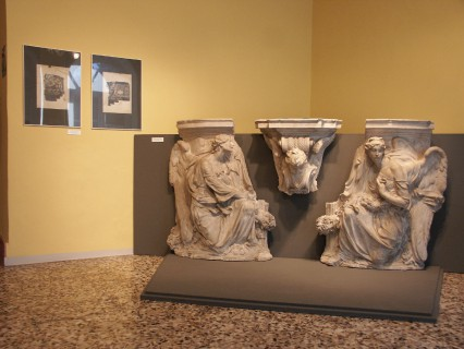 12 Villa Calvi Mostra Scultori Rigola Sala Duomo Milano Gesso Altare Maggiore