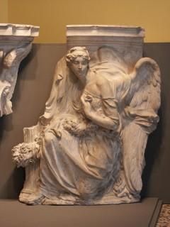 13 Villa Calvi Mostra Scultori Rigola Sala Duomo Milano Gesso Altare Maggiore Angelo