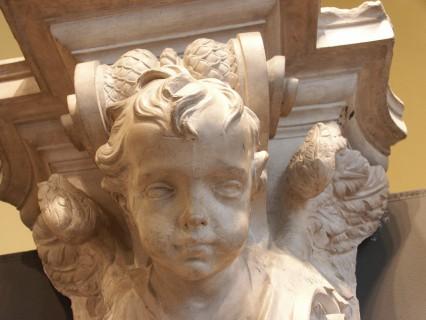 15 Villa Calvi Mostra Scultori Rigola Sala Duomo Milano Gesso Altare Maggiore Testa Angioletto