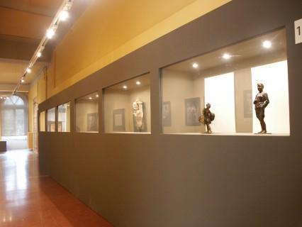 7 Villa Calvi Mostra Scultori Rigola Statuette Bronzee
