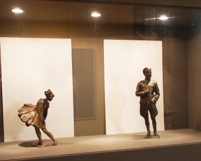 8 Villa Calvi Mostra Scultori Rigola Statuette Bronzee