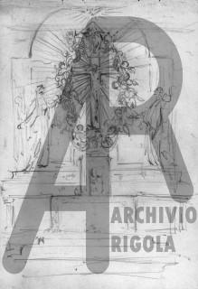 Cantu de Amicis Altare Chiesa Disegno Rigola