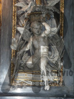 Chiavari Duomo Lesena Rigola Modello Putti