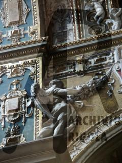 Genova Duomo Cappella Cybo Rigola Scultori Angelo 1