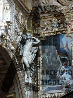 Genova Duomo Cappella Cybo Rigola Scultori Angelo 2