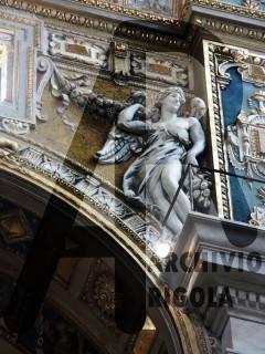 Genova Duomo Cappella Cybo Rigola Scultori Angelo 3