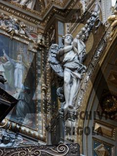 Genova Duomo Cappella Cybo Rigola Scultori Angelo 4