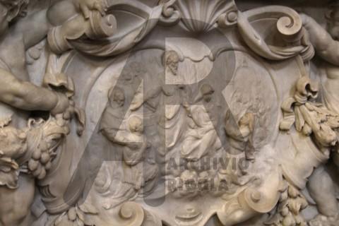 Piovera Altare Sacro Cuore Medaglione Rigola