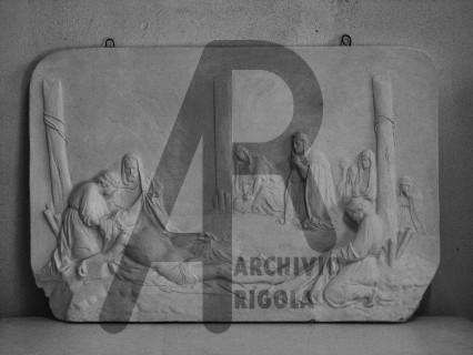 Rigola Scultori Deposizione Gesso Altare