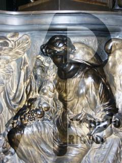 Duomo Milano Base Bronzea Altare Maggiore Angelo 4