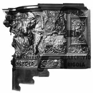 Duomo Milano Base Bronzea Altare Maggiore Rigola 1