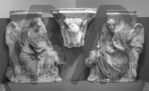 Duomo Milano Base Bronzea Altare Maggiore Rigola Gessi