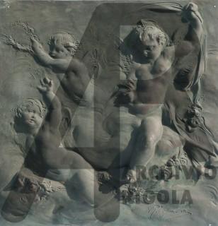 Rigola Bronzi Bassorilievi per Mobili Puttini 4