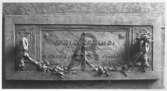 Bozzetto per Tomba Bronzea Rigola