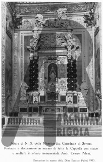 Duomo Savona Altare Misericordia Statue Rigola