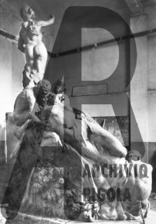 Esposizione Universale 1906 Milano Rigola Gruppo Scultoreo