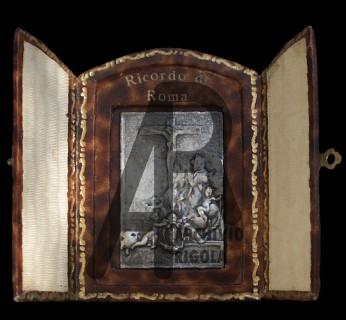 Anno Santo 1934 Placchetta Crocefisso Rigola