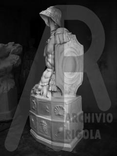 Como Monumento ai Caduti Rigola Milite Gesso 1