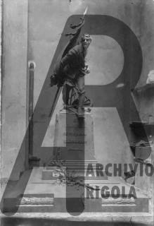 Rovellasca Monumento ai Caduti Rigola Bozzetto