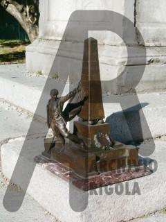 Zogno Monumento ai Caduti Rigola Bronzo Bozzetto