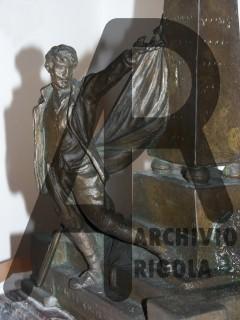 Zogno Monumento ai Caduti Rigola Bronzo Bozzetto Particolare
