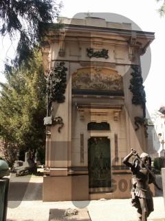 Milano Cimitero Monumentale Rigola Edicola Giudici