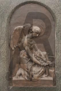 Rigola Scultori Monumenti Funerari Bronzo Angelo