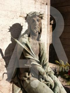 Rigola Scultori Monumenti Funerari Bronzo Cristo