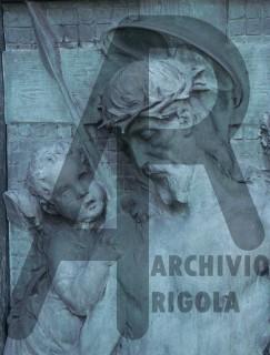 Rigola Scultori Monumenti Funerari Bronzo Cristo Deposizione 1