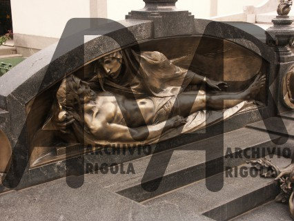 Rigola Scultori Monumenti Funerari Bronzo Deposizione 1