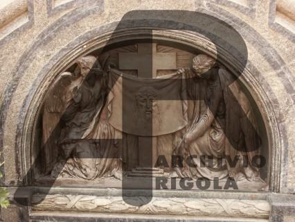 Rigola Scultori Monumenti Funerari Bronzo Veronica