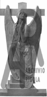 Rigola Scultori Monumenti Funerari Gesso Angelo Orante