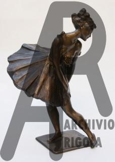 Rigola Scultori Ballerina Bronzo